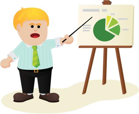Office Report Stockvectorkunst en meer beelden van Afbeelding