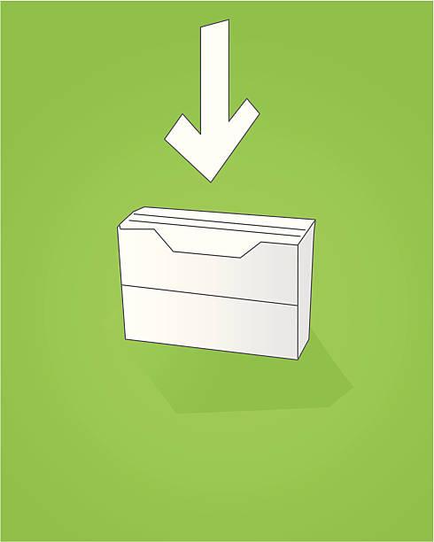ilustraciones, imágenes clip art, dibujos animados e iconos de stock de carpeta oficina de la suite - suministros escolares