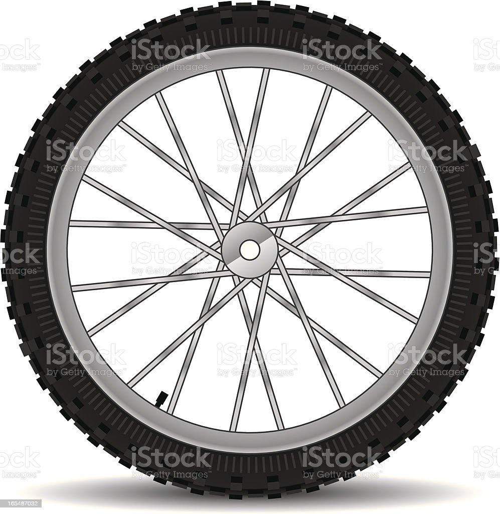 Vetores De Offroad Bicicleta De Pneu E Mais Imagens De Bicicleta Istock