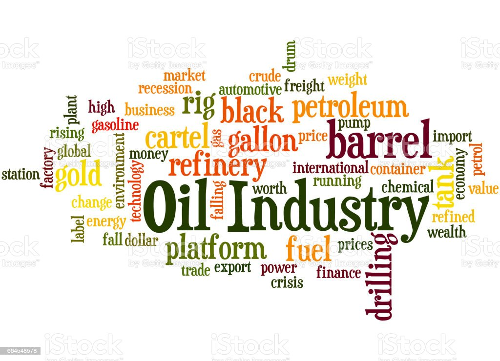Oil Industry, word cloud concept 4 royalty-free oil industry word cloud concept 4 stock vector art & more images of barrel