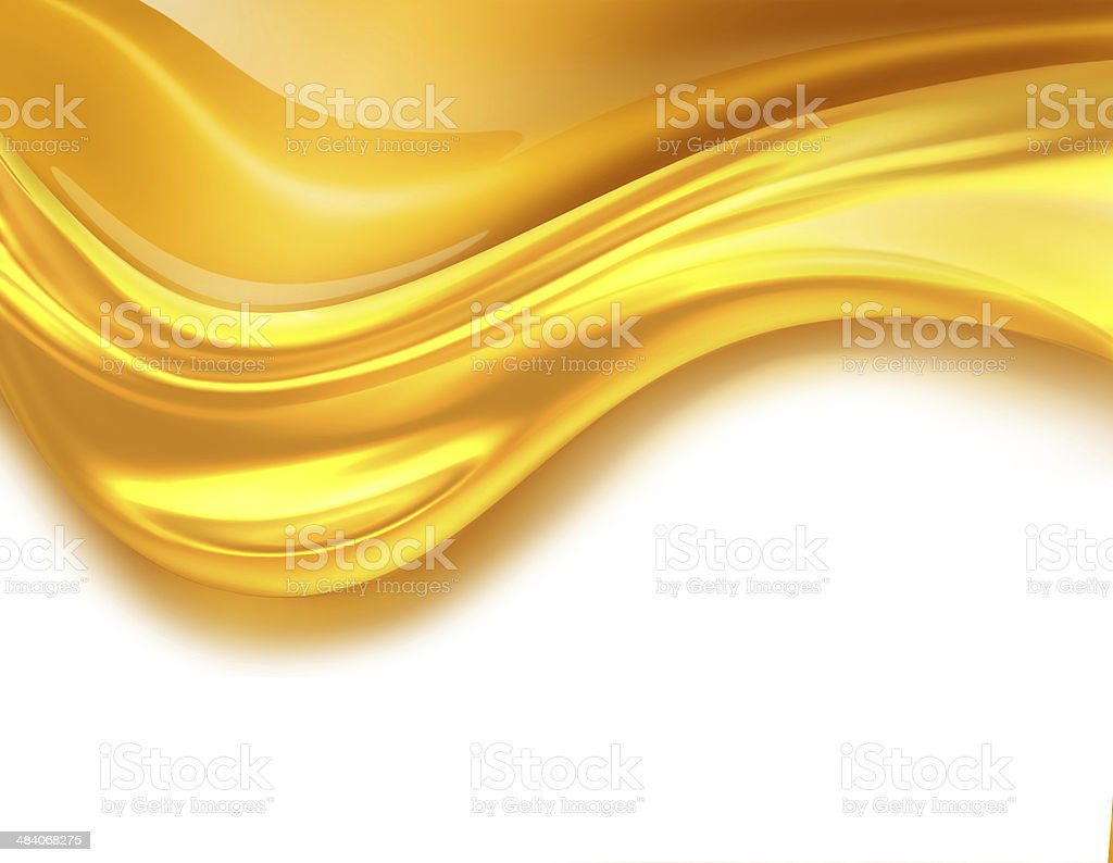 Oil Wave vector art illustration