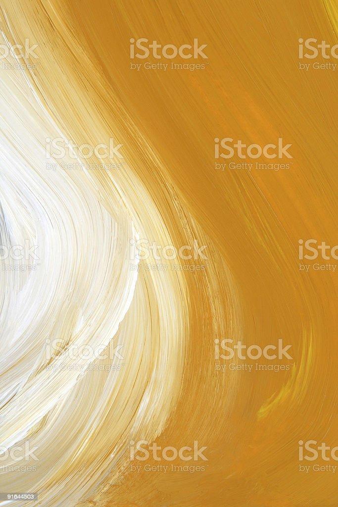 Oil-painted brush strokes texture vector art illustration