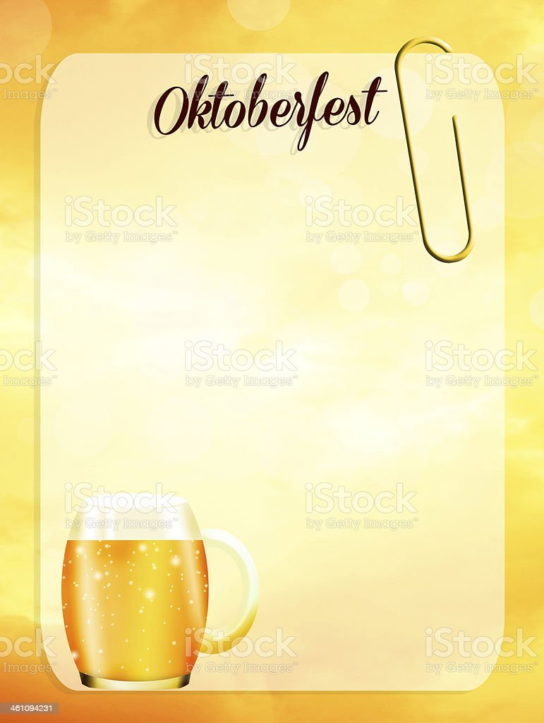 oktoberfest royalty-free stock vector art