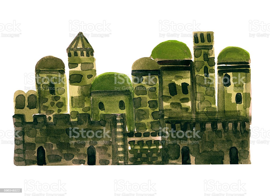 Old City, Middle East Town, Illustration,Sketch royalty-free old city middle east town illustrationsketch stock vector art & more images of ancient