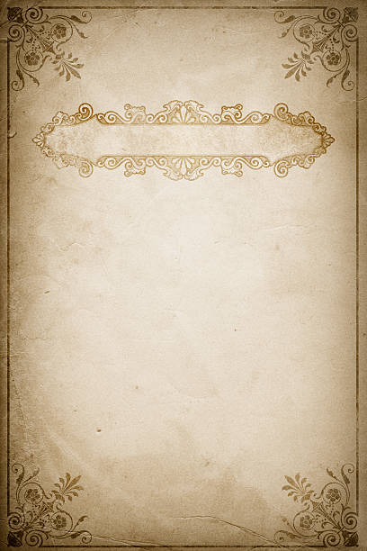 Vintage Book Cover Paper ~ Royalty free old book clip art vector images