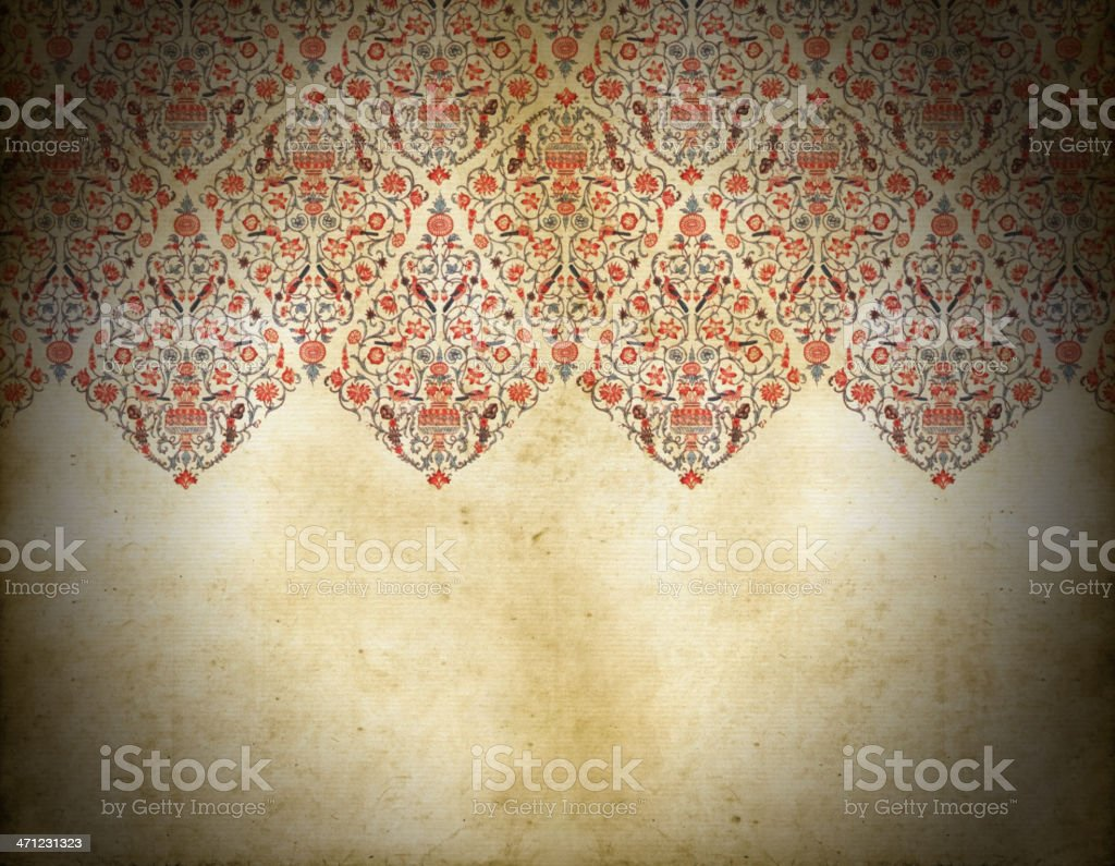 Old Dirty Persian Background Stock Vector Art & More Images of ...