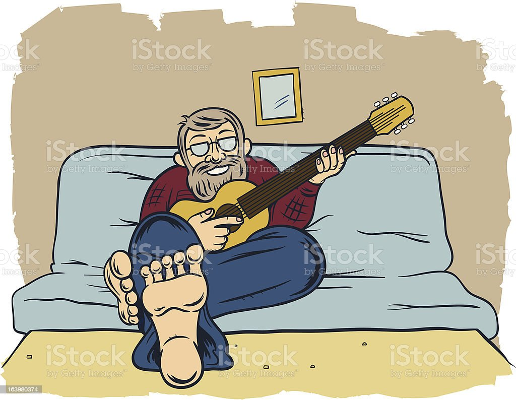 Old Folk royalty-free old folk stock vector art & more images of barefoot
