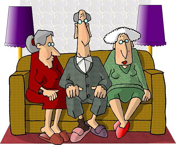 old folks - old man photo pictures stock illustrations, clip art, cartoons, & icons