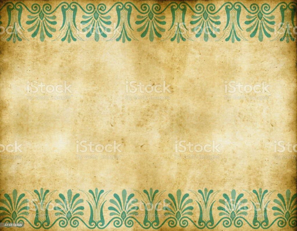 Griego papel tapiz vintage antiguo illustracion libre de - Papel pared antiguo ...