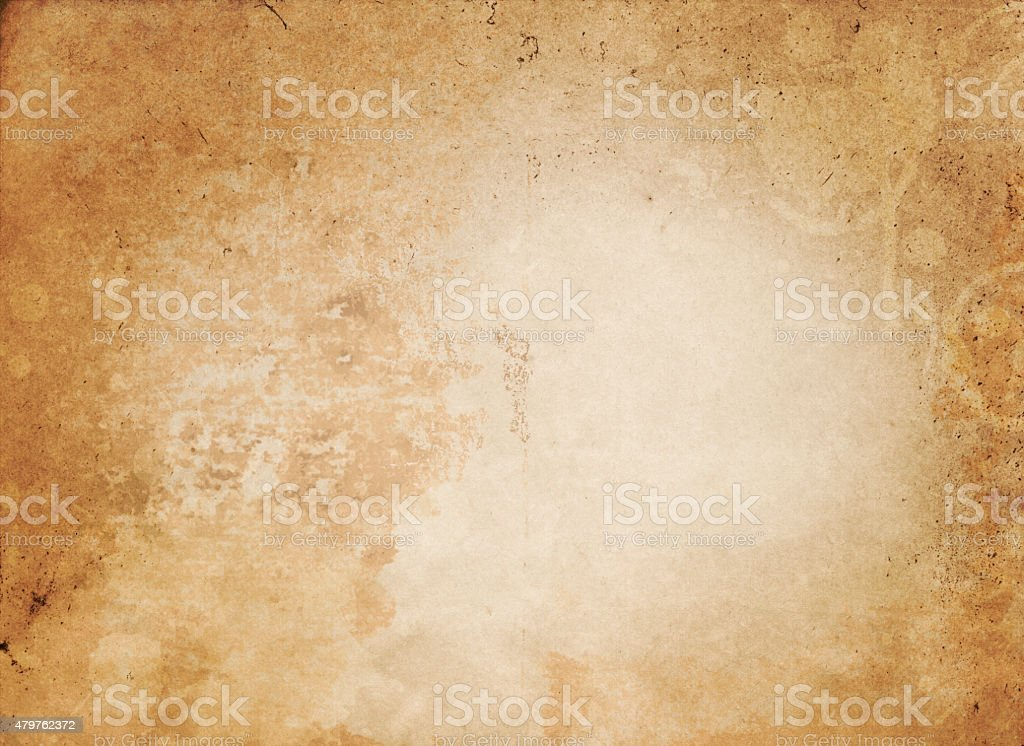 Old grunge paper texture. vector art illustration