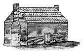istock Old Log Cabin 933827096