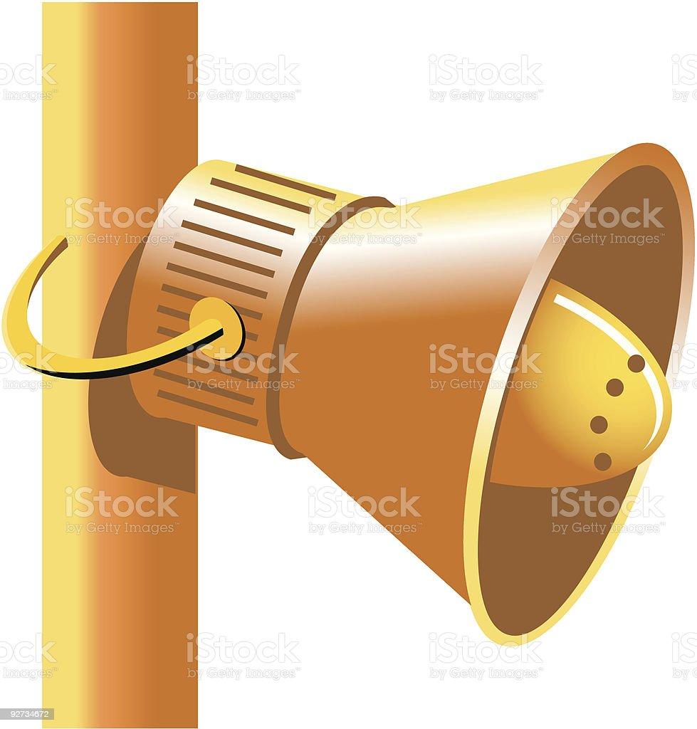 Old Lautsprecher Lizenzfreies old lautsprecher stock vektor art und mehr bilder von alt