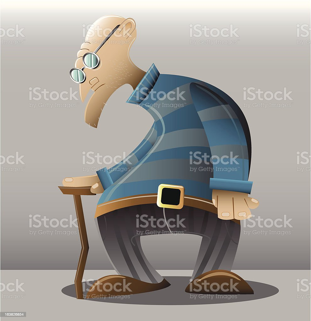 old man royalty-free old man stock vector art & more images of adult