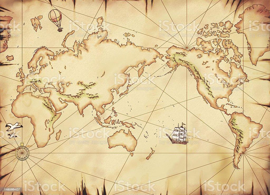 vieille carte du monde cliparts vectoriels et plus d 39 images de aventure 148566407 istock. Black Bedroom Furniture Sets. Home Design Ideas