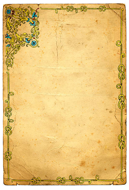 Best Meval Illuminated Letter Illustrations, Royalty-Free ... on
