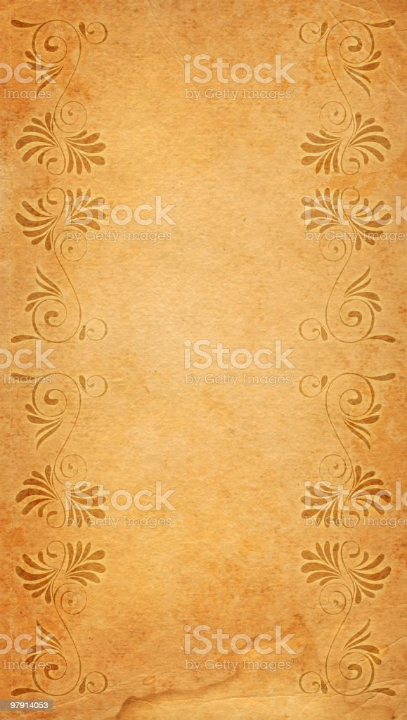 old ornated framed paper royalty-free old ornated framed paper stock vector art & more images of ancient