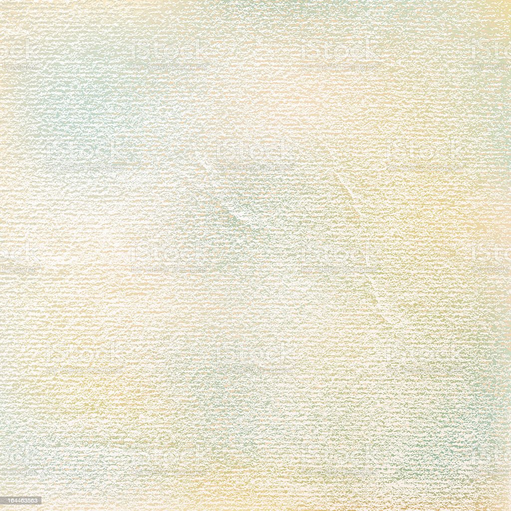 Old paper. 1 credits. Empty watercolor texture damages folds scratches vector art illustration