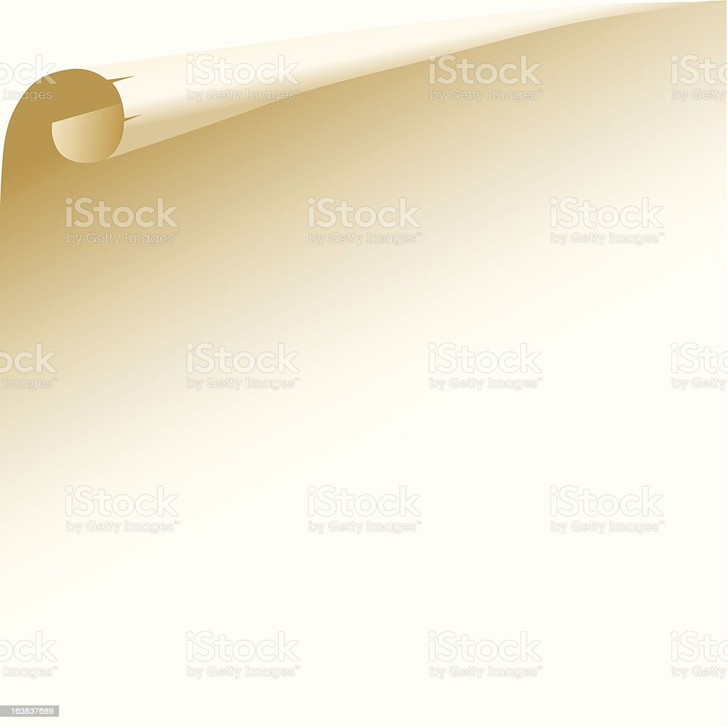 old paper page royalty-free old paper page stock vector art & more images of angle