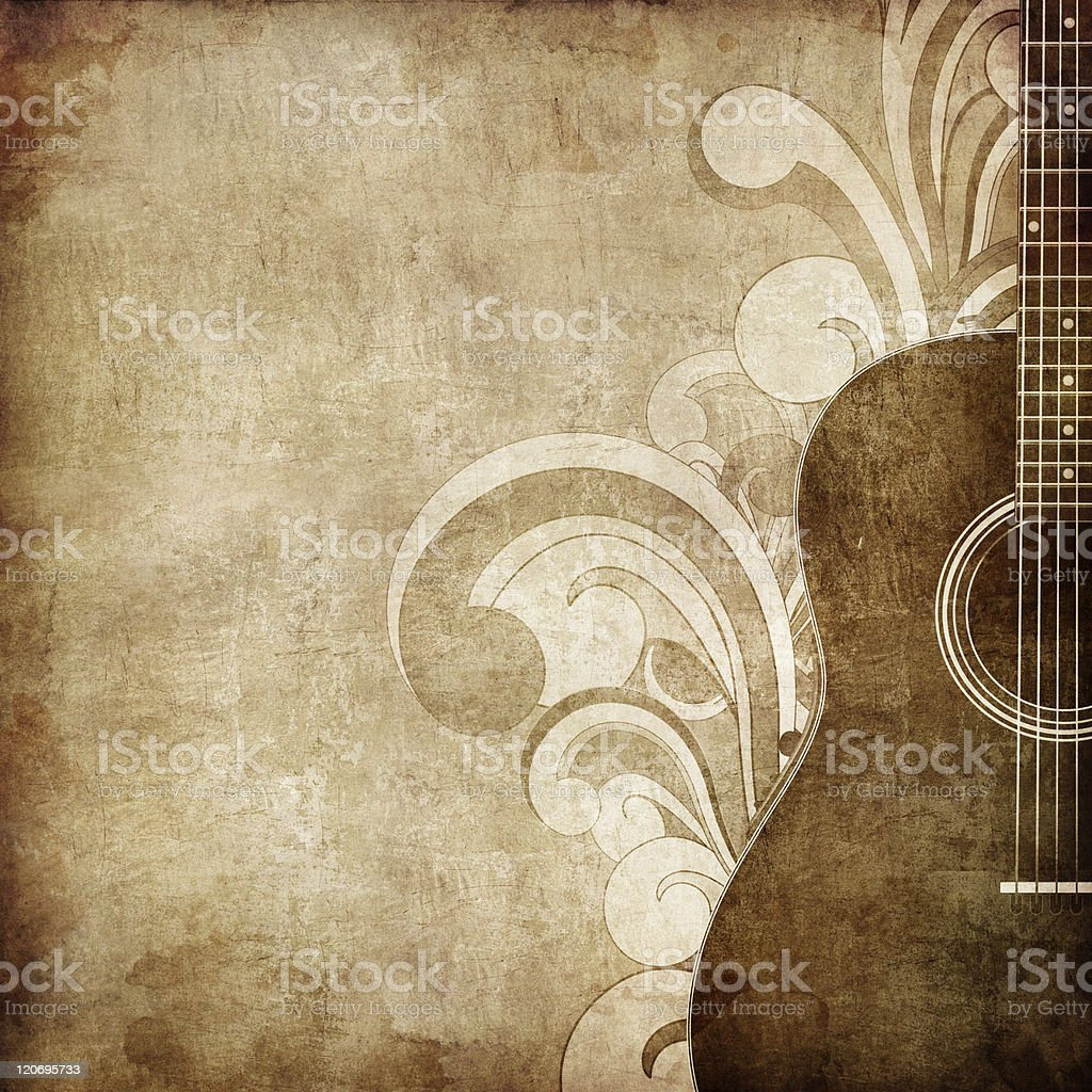 Old Paper Texture vector art illustration