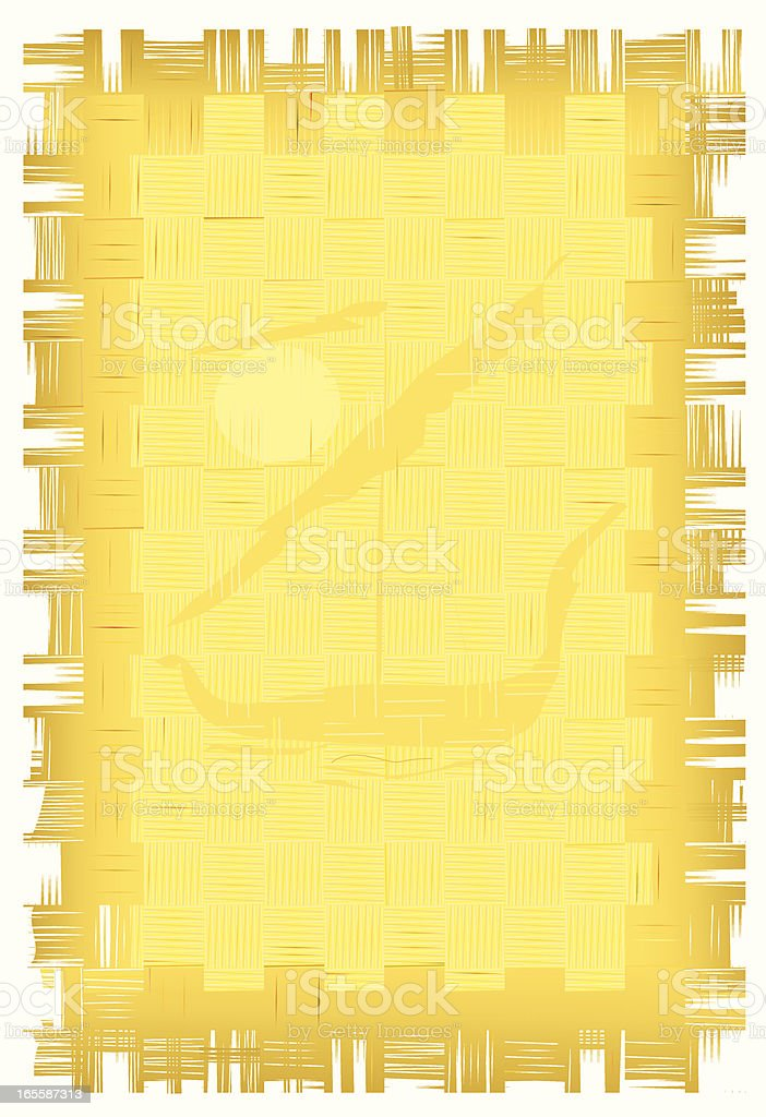 old papyrus royalty-free stock vector art