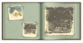 """""""Vector illustration of an old photo album. EPS10 transparency effect, gradient mesh."""""""