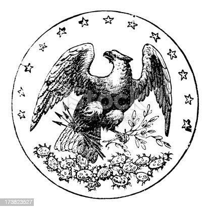 Old state seal of Florida.