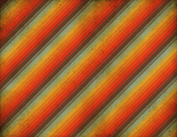 Old Striped Retro Wallpaper  kitsch stock illustrations
