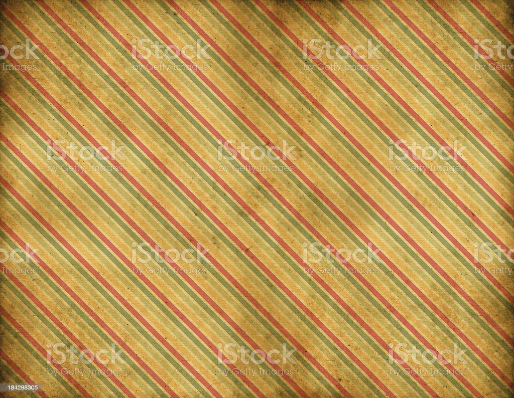 Old Striped Wallpaper vector art illustration