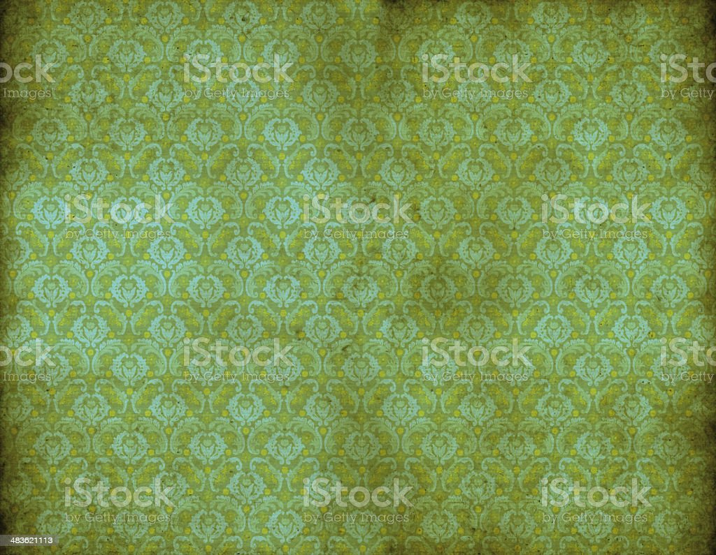 Old Vintage Wallpaper royalty-free stock vector art