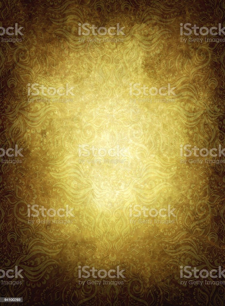 Old wallpaper royalty-free stock vector art