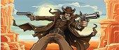 Old West Gunslinger: Mountain Pass Version