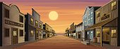 istock Old West Town 98345036