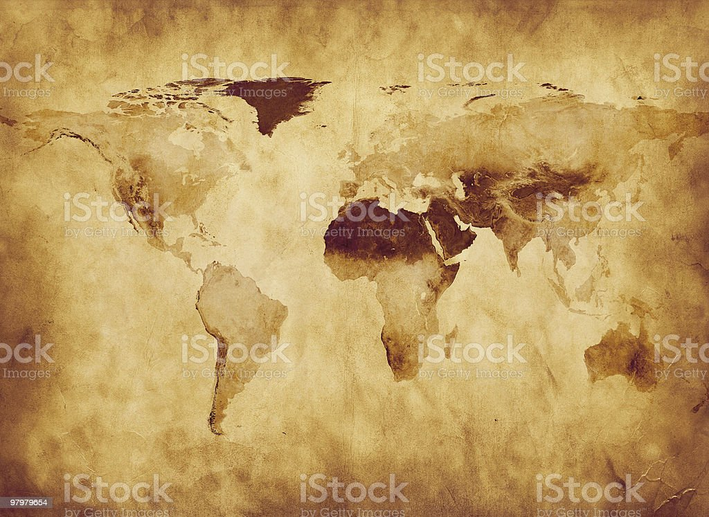 Old World Map royalty-free old world map stock vector art & more images of africa