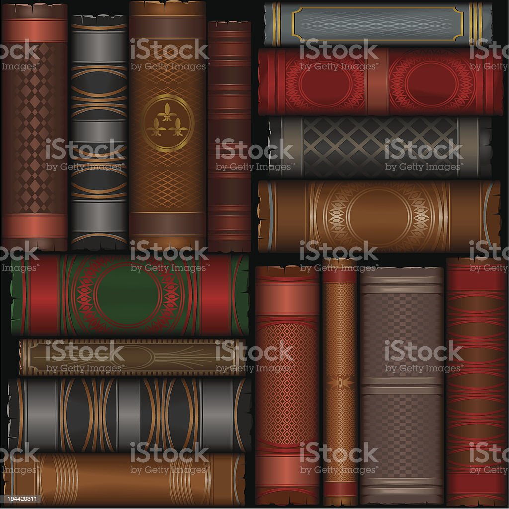 old_book_pattern_2 royalty-free oldbookpattern2 stock vector art & more images of ancient