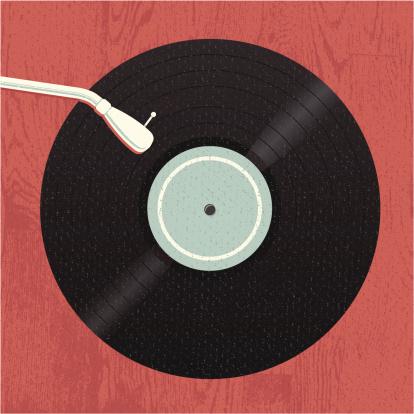 Old-School Music Vinyl