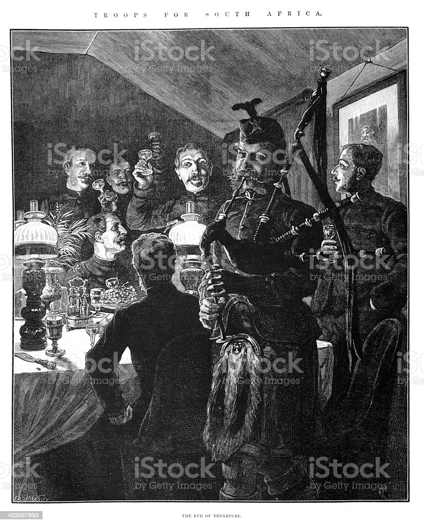 On the Eve of War royalty-free on the eve of war stock vector art & more images of 19th century