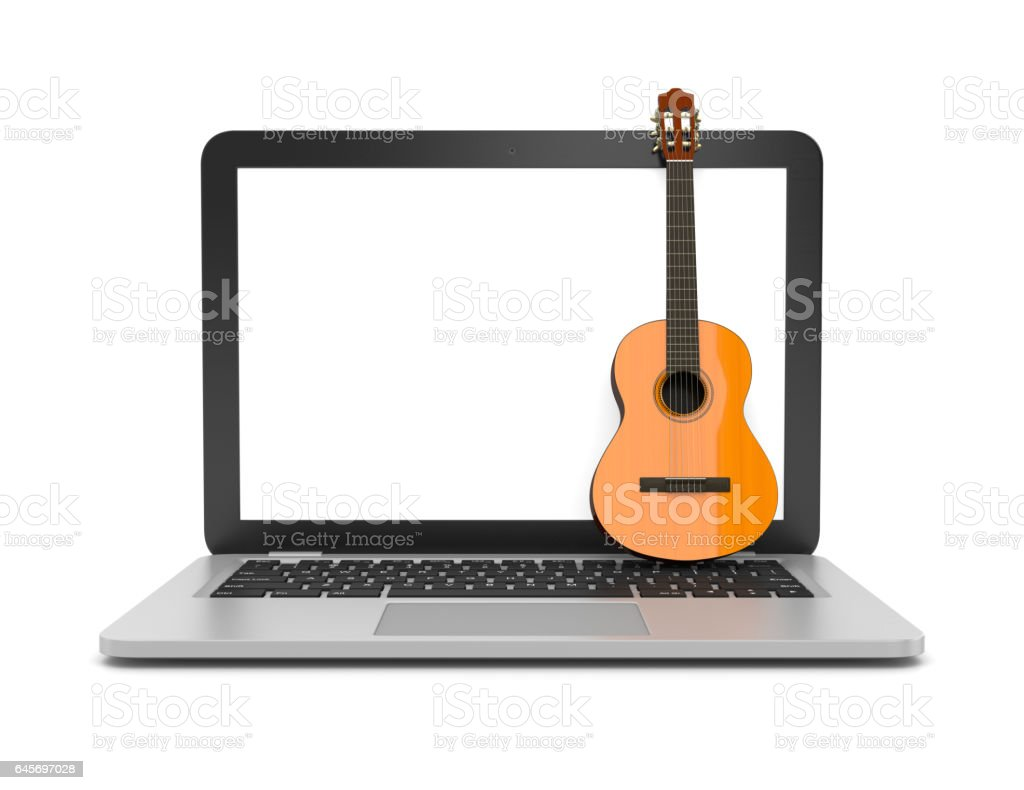 Online Music Lessons Stock Illustration - Download Image Now