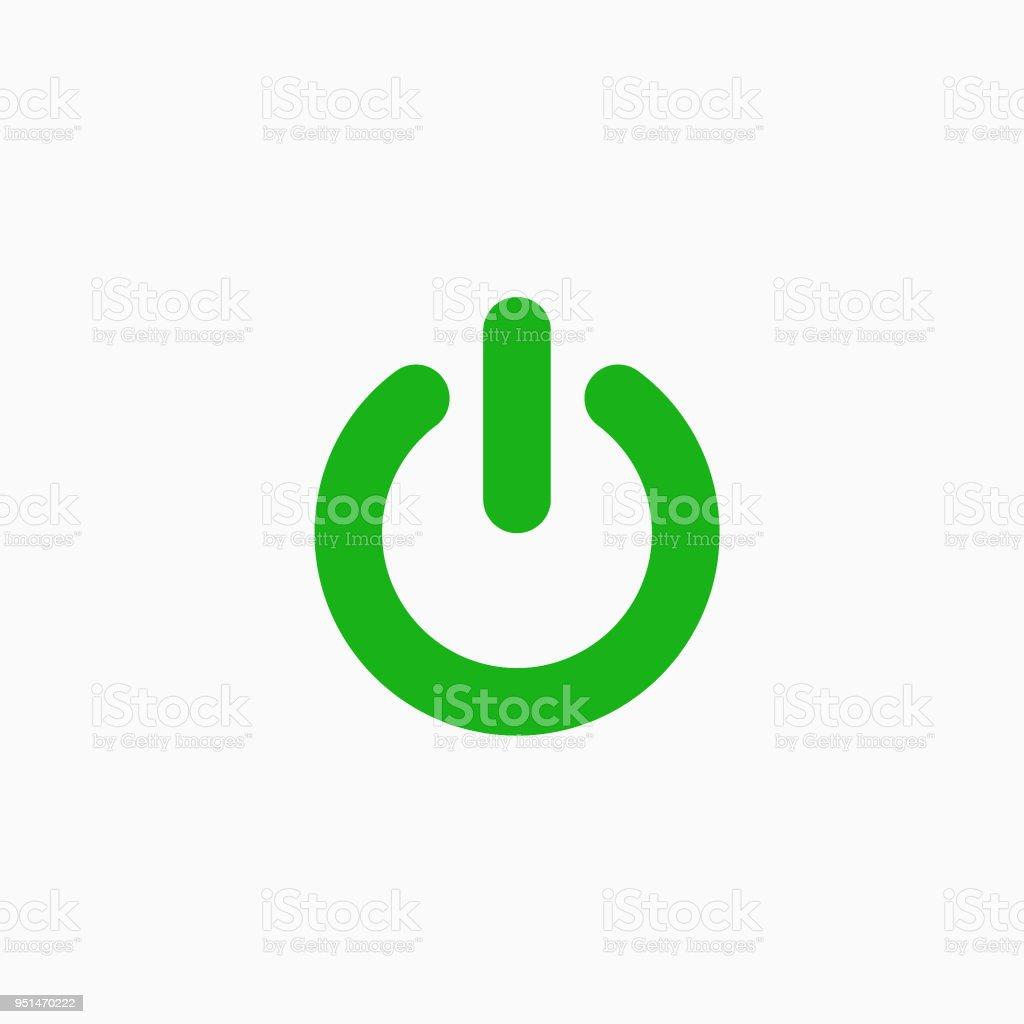 Onoff Schalter Symbol Auf Weißem Hintergrund Stock Vektor Art und ...