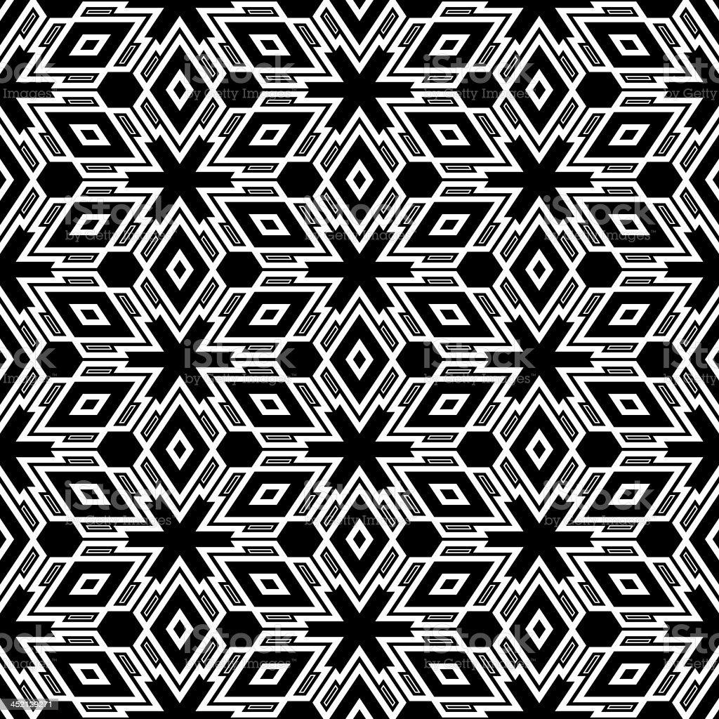 Op Art Escher 2 - Seamless Texture royalty-free stock vector art
