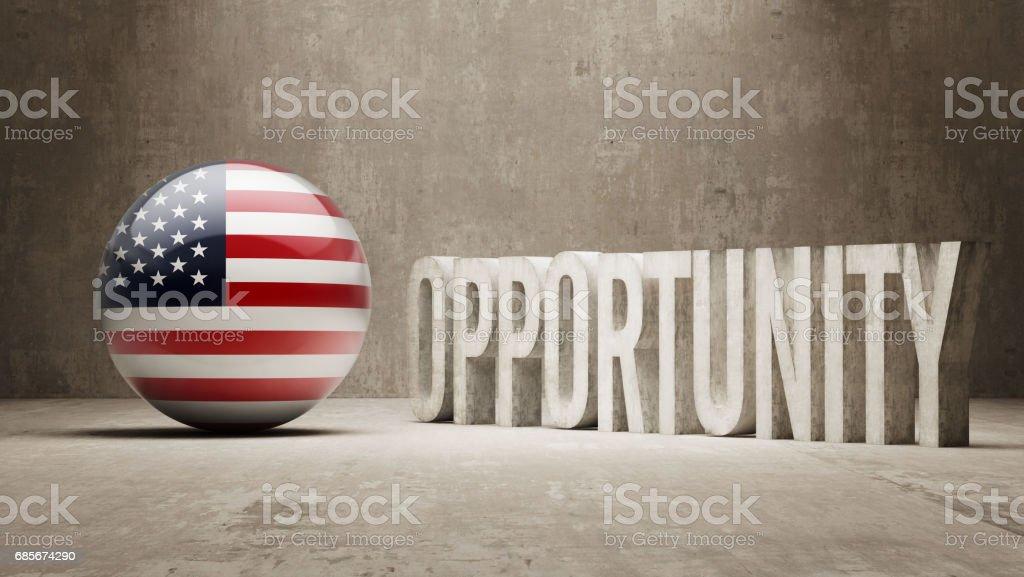 Gelegenheit-Konzept Lizenzfreies gelegenheitkonzept stock vektor art und mehr bilder von amerikanische flagge