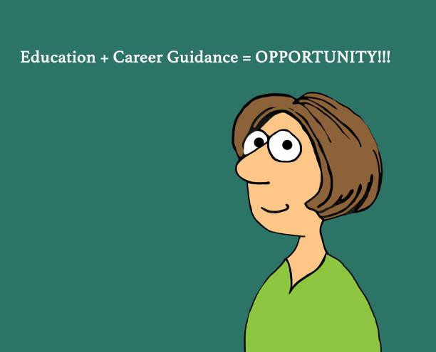 ilustrações, clipart, desenhos animados e ícones de oportunidade - orientador escolar