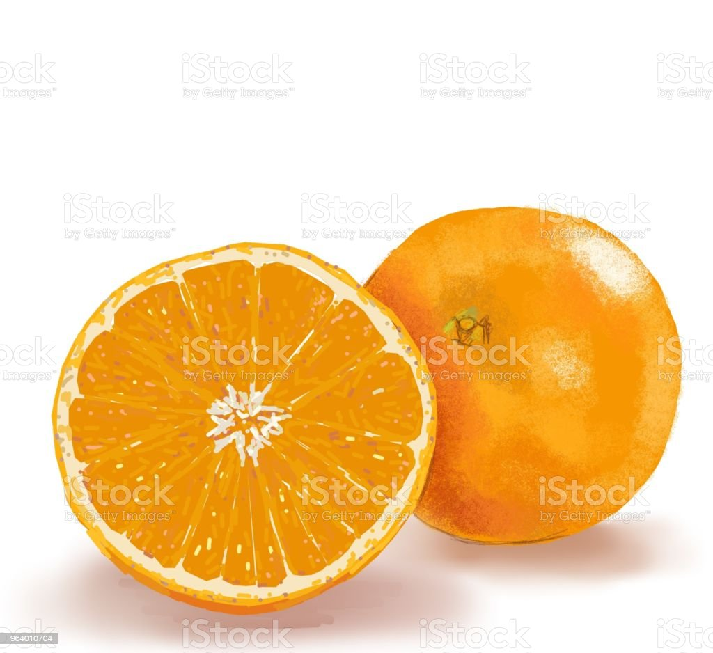 orange 2 - Royalty-free Bulgaria stock illustration