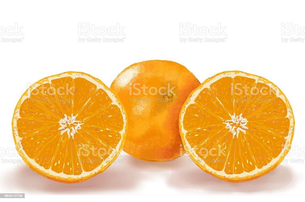 orange 7 - Royalty-free Bulgaria stock illustration