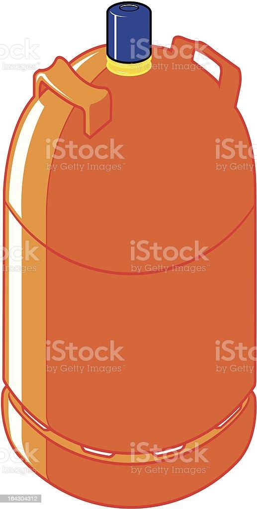 orange butane gas cylinder royalty-free orange butane gas cylinder stock vector art & more images of bottle