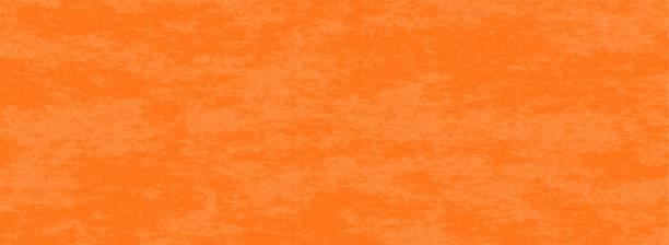 orange color background with marbled texture banner vector art illustration