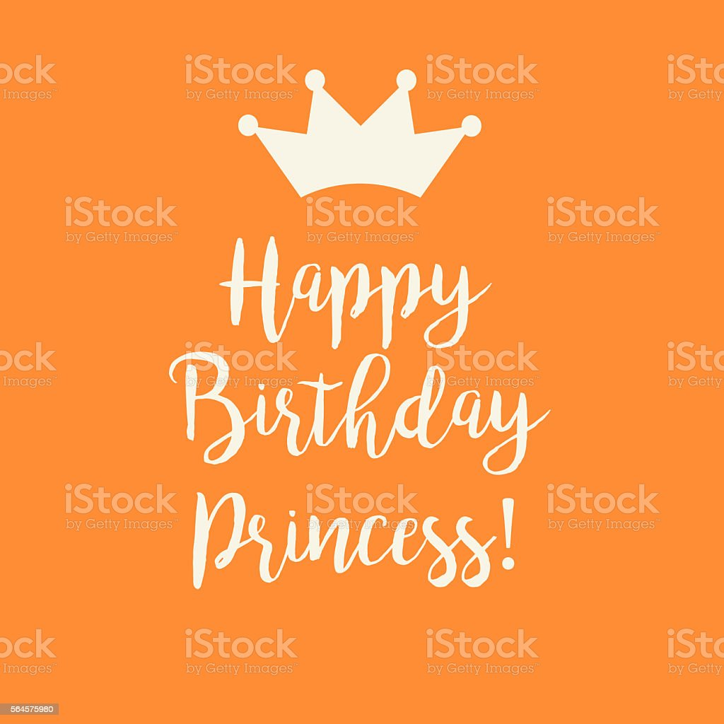 Handschrift Maschinenschrift Symbol Text Computergrafiken Orange Happy Birthday Card