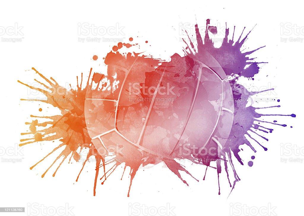 Ballon de volley ballon de volley vecteurs libres de droits et plus d'images vectorielles de activité libre de droits