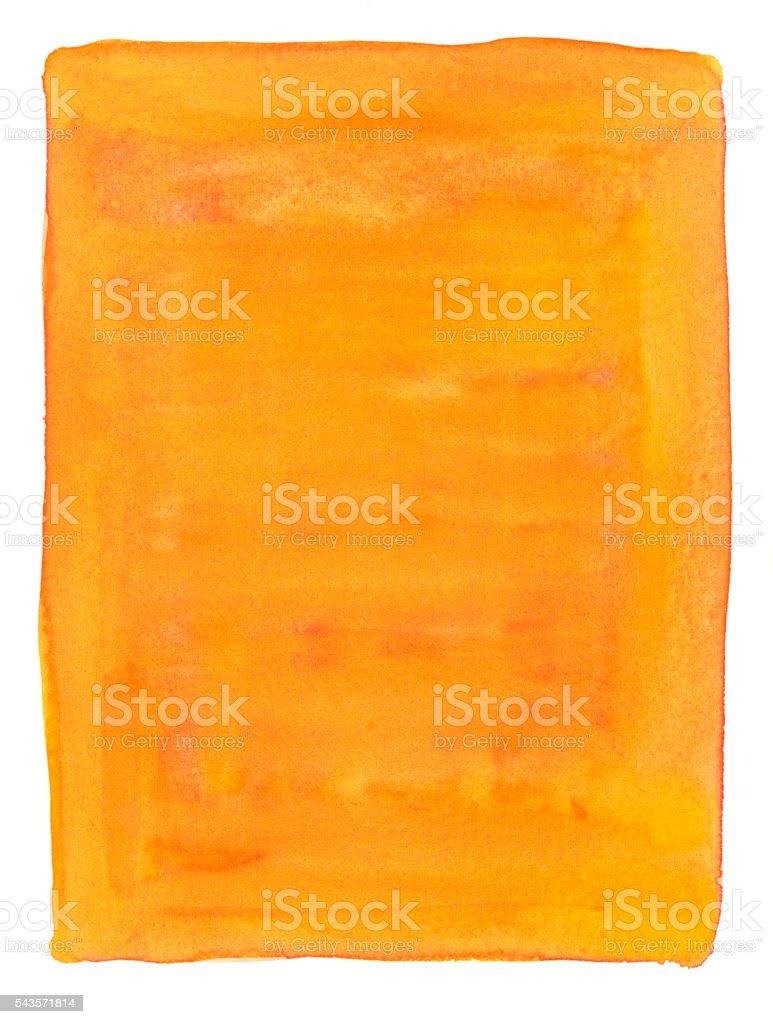 Aquarela Fundo laranja - ilustração de arte em vetor