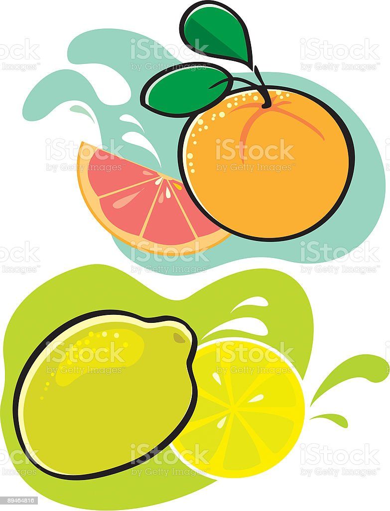 Orange with Lemon as well as lime royalty-free orange with lemon as well as lime stock vector art & more images of backgrounds