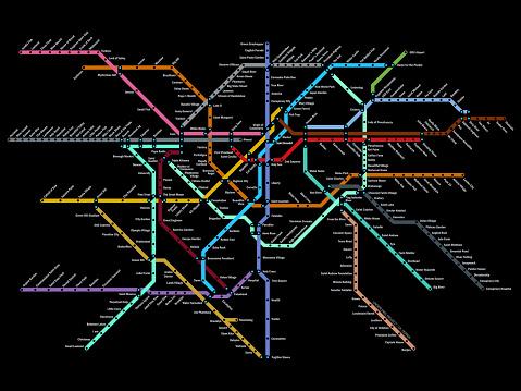 original subway map